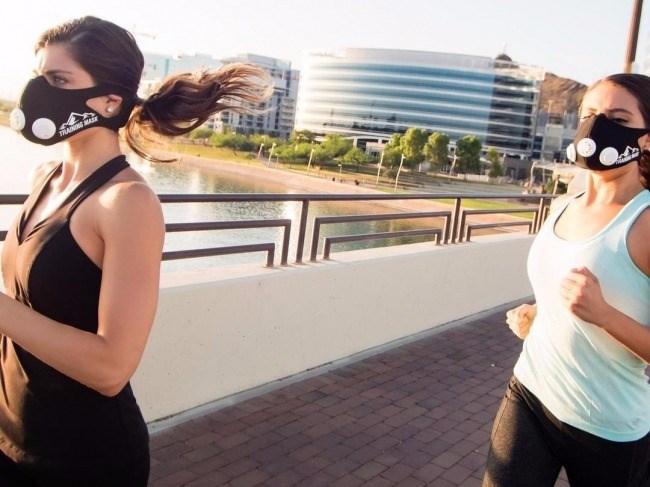 Кислородная маска для бега. Какие маски лучше и как бегать в маске