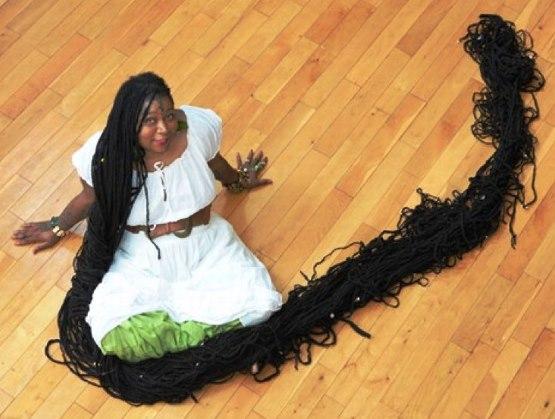 Книга рекордов Гиннеса. Самые длинные волосы и их обладательницы