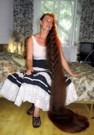 Самые длинные волосы книга рекордов гиннеса