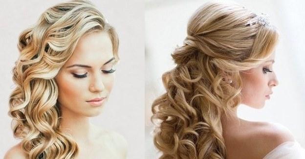 Вечерние причёски на средние волосы локоны фото