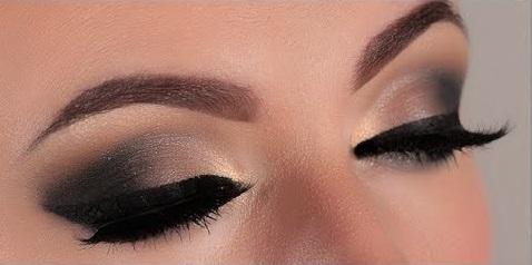макияж в стиле смоки айс фото