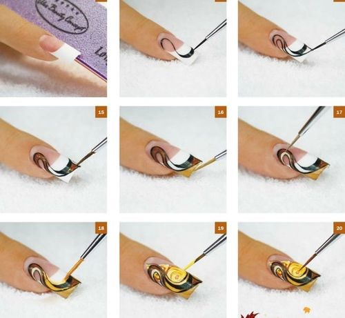 Покрытие гель-лаком в домашних условиях. Как делать маникюр пошагово