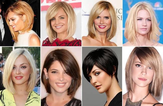 Стрижки на средние волосы для круглого лица видео