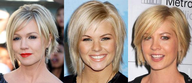 Прически (стрижки) женские для круглого лица: короткие, средние, длинные волосы