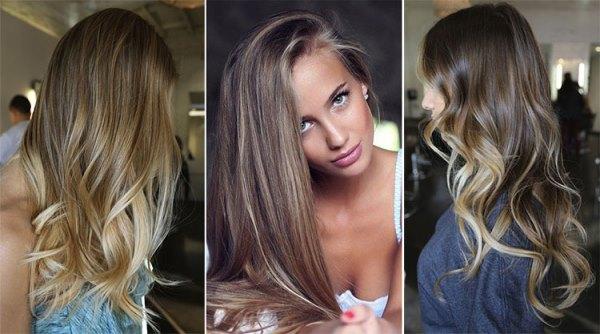 Шатуш на волосах мастер класс