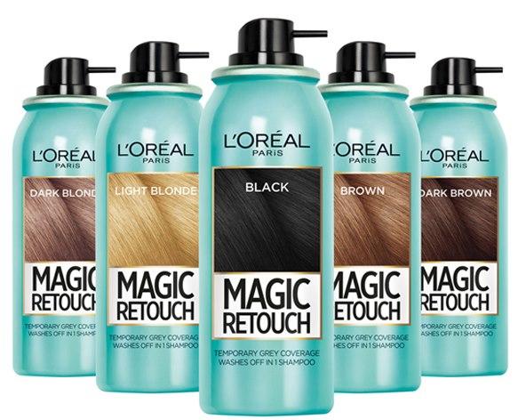 Смывающаяся краска-спрей для волос