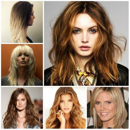Окрашивание для объема волос