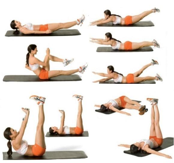 Упражнения для подтяжки живота в домашних условиях фото