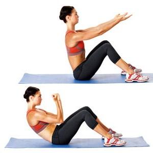 Упражнения для пресса в домашних условиях для женщин и мужчин