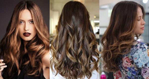 Балаяж на темные средние волосы. Фото стильных вариантов окрашивания