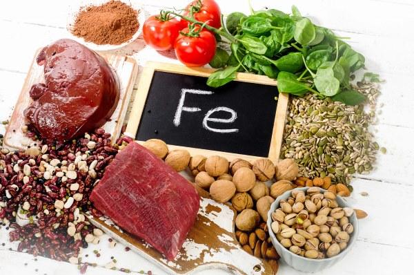 Какие самые доступные и полезные  продукты богаты железом. Список