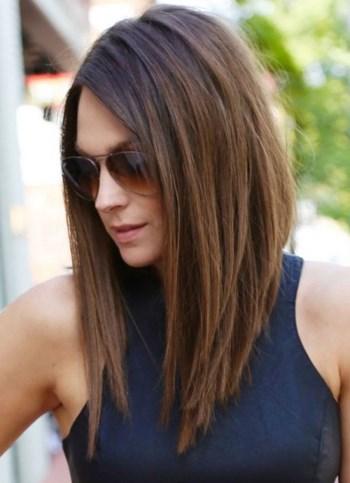 Каре на удлинение без челки для тонких волос
