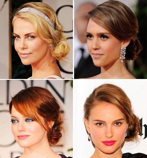 Красиво собранные прически на короткие волосы. Примеры и инструкции