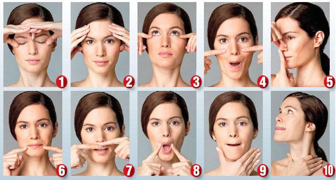 Лучший метод как убрать носогубные складки. Гимнастика, массаж лицевых мышц, кремы, маски, липофилинг