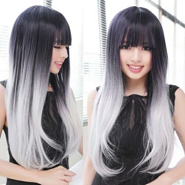 Окрашивание омбре на темно русые волосы. Модное цветное, пепельное, классическое омбре