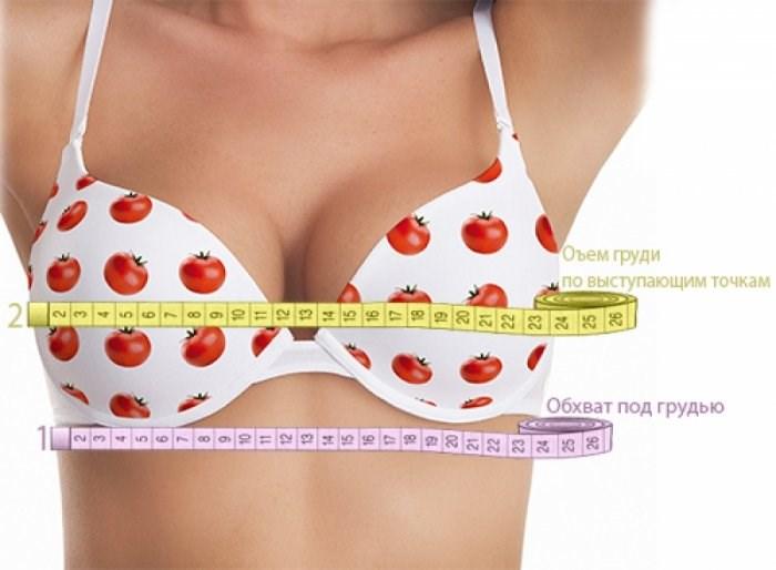 Как определить размер бюстгальтера, как узнать, измерить размер груди. Таблица размеров