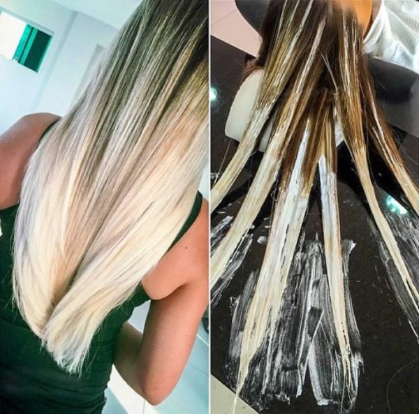 Техника «балаяж» на русые волосы (каре). Как выбрать цвет и стиль «балаяж»