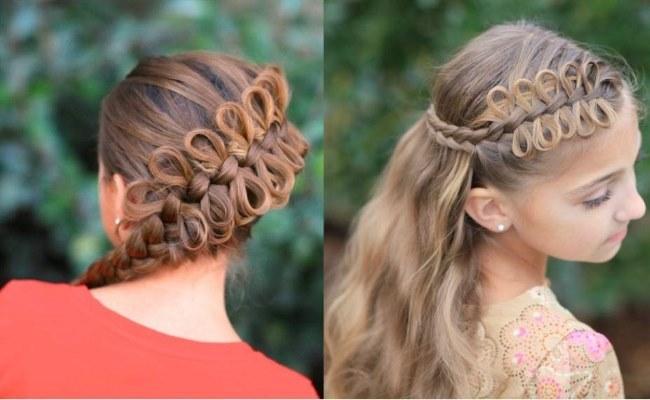 Прическа бантик из волос пошаговая инструкция картинки 17
