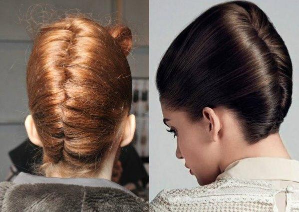 Делаем ракушку из волос. Пошаговая инструкция с фотографиями