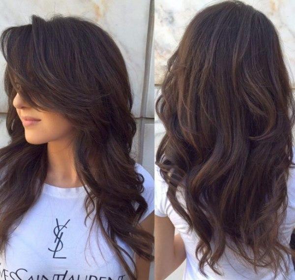 Как красиво подстричь длинные волосы. Модные стрижки для длинных волос