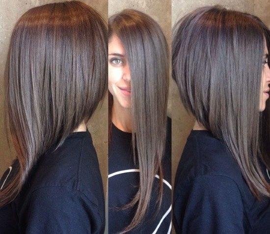 Как подстричь длинные волосы лесенкой