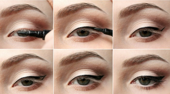 Как нарисовать стрелки на глазах. Пошаговая инструкция для начинающих с фото