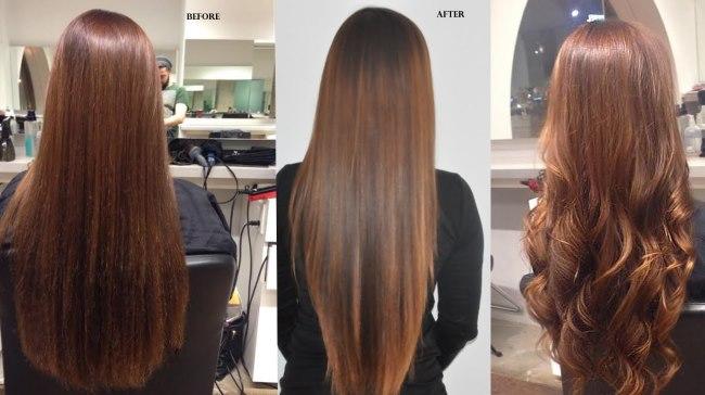 Кератиновое выпрямление волос. Результаты, последствия и отзывы. Инструкция выполнения