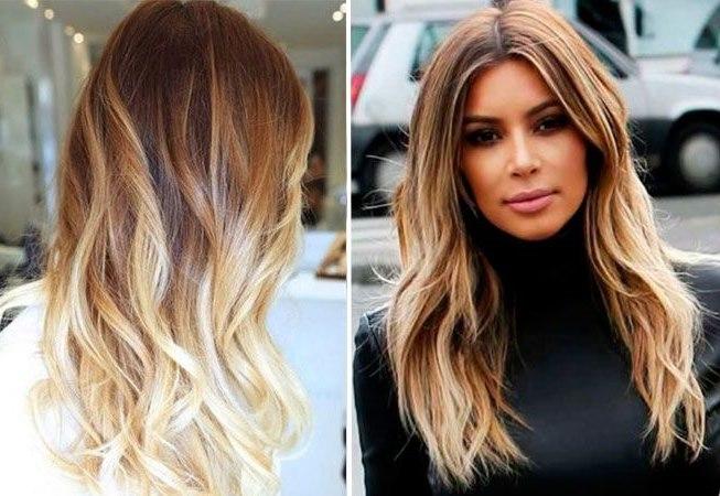 колорирование волосы фото на русые волосы