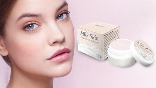 Milk Skin (Милк скин) крем от пигментных пятен. Состав, полезные свойства, инструкция применения