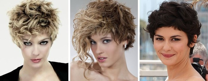 Каре для волнистых волос