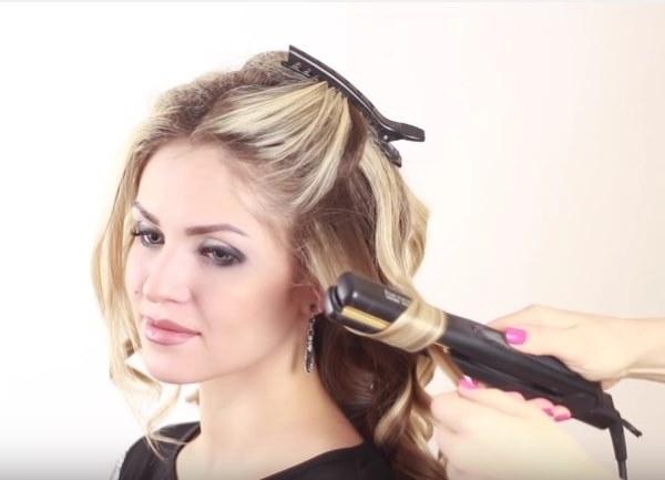 Накручиваем волосы на утюжок для выпрямления. Секреты парикмахеров