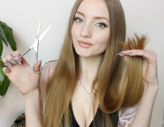 Подстригаем концы длинных волос углом. Инструкция и практические советы
