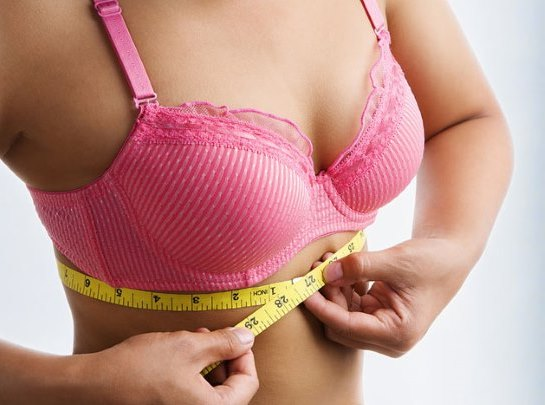 Размер груди. Как правильно снимать мерки, как определить размер бюстгальтера