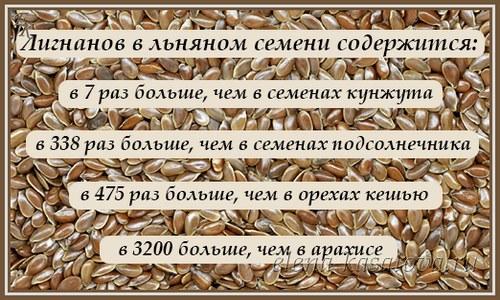 Семена льна. Полезные свойства для организма женщин. Как принимать