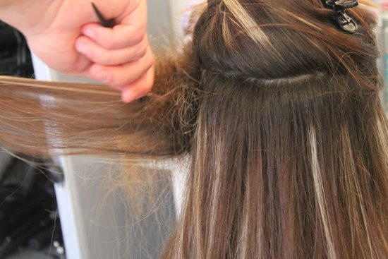 Шатуш на русые волосы средней длины. Фото идей техники окрашивания шатуш