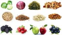 Список продуктов при низком гемоглобине. Какие самые железосодержащие продукты
