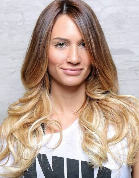 Техника «омбре» для русых волос. Самые стильные варианты окрашивания. Фото