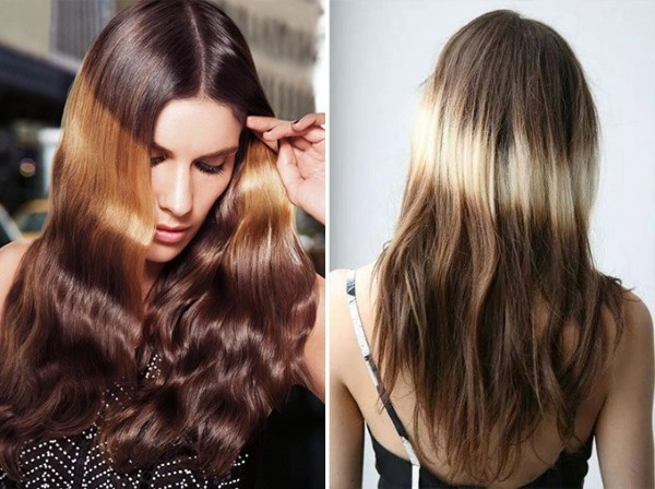 светлые пряди на русых волосах фото