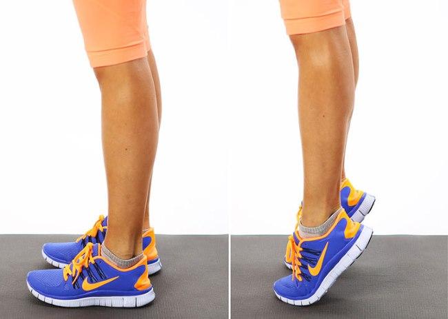 Упражнения для накачки икроножных мышц для женщин. Правила выполнения тренировки