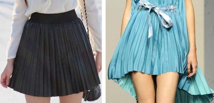 Как сшить юбку плиссе своими руками для девочек