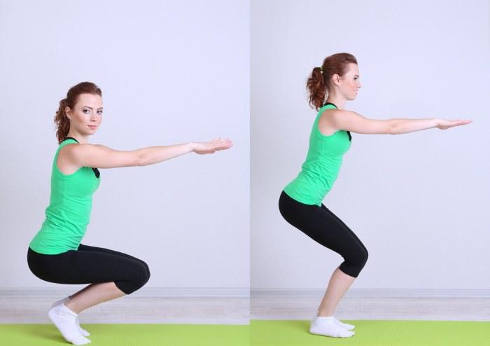 Лучшие упражнения для похудения ляшек с внутренней стороны. Качаем мышцы ног