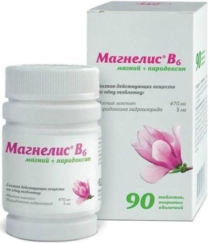 """""""Магне B6"""" (""""Магний В6""""). Инструкция по применению при планировании и во время беременности"""