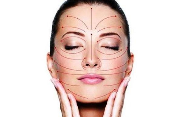 Массаж для подтяжки лица. Техника, массажные линии, зоны, как делать точечный массаж