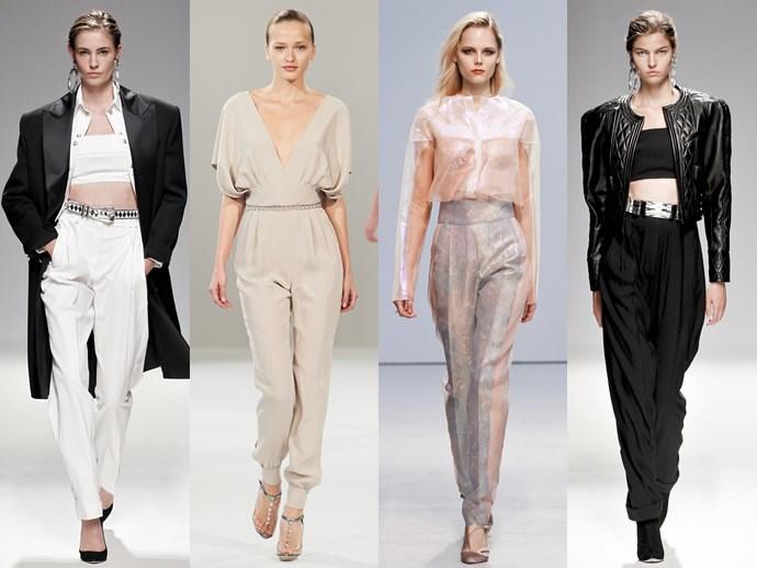 Модные фасоны, цвета и принты женских брюк нового сезона. Клеш, Скинни, Кюлоты, бананы