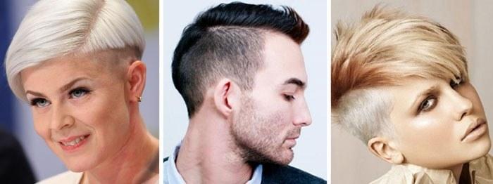 Андеркат – модная стрижка для женщин и мужчин. Особенности и как стричь Undercut