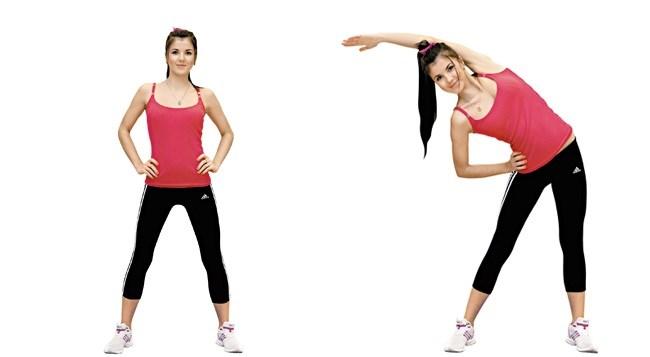 Упражнения, чтобы быстро убрать жир с живота и боков у женщин. Как выполнять