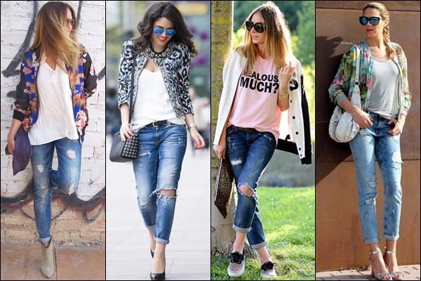 Как сделать рваные джинсы из старых в домашних условиях своими руками