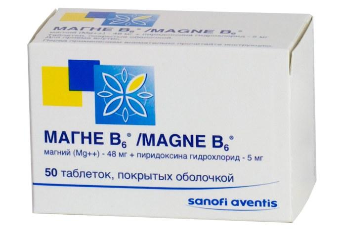 Продукты с содержанием магния В6 в большом количестве. Таблица