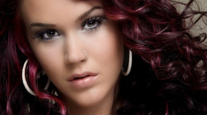 Рыжие оттенки красок для волос. Фото и название. Палитра Лореаль, Эстель, без красноты