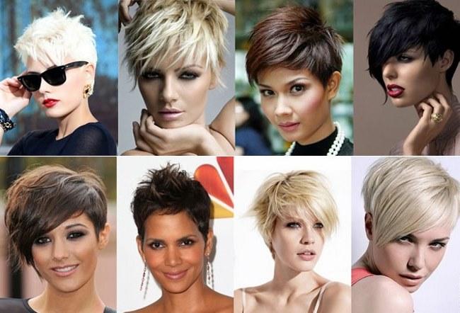 Модные женские стрижки на короткие волосы 2018 12